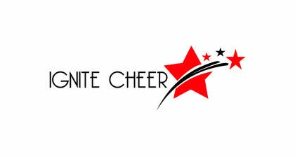 #19 untuk Design a logo for IGNITE CHEER oleh olja85