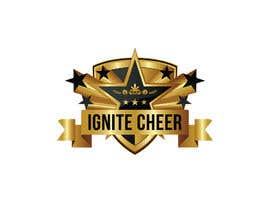#26 untuk Design a logo for IGNITE CHEER oleh Iamdesigner
