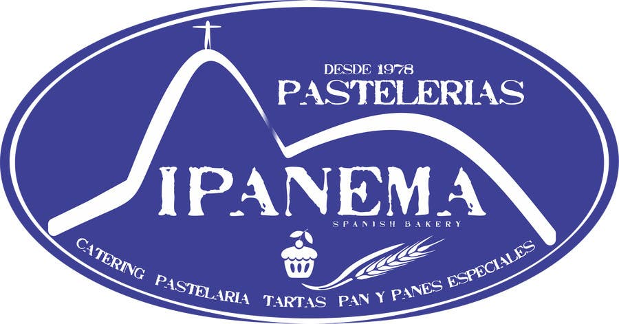 #50 for logo design for traditional bakery IPANEMA by thomasstalder