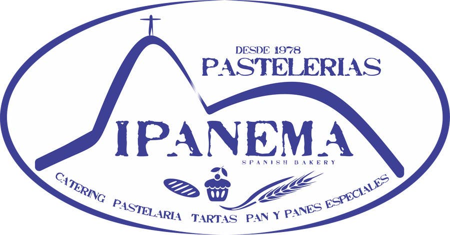 #51 for logo design for traditional bakery IPANEMA by thomasstalder