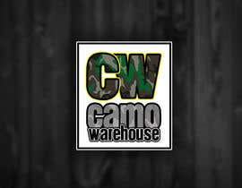 #53 untuk Design a Logo for Camo Warehouse oleh RenegadeCT