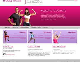 #8 untuk Design and build a homepage for fitness website & forum oleh pankajmahato94