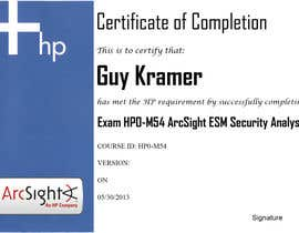 nº 8 pour I need a certificate designing for an exam - EASY par Xenon7