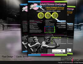 #22 for Design a Flyer for Cardio Tennis by elizewatkins