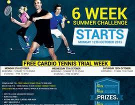 #19 for Design a Flyer for Cardio Tennis by azizagoda