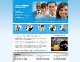 #15 for Recruitment website home page design af grafixeu