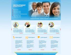 #20 for Recruitment website home page design af grafixeu