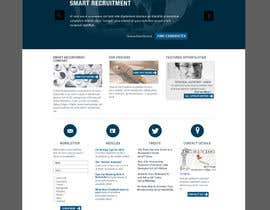 #2 for Recruitment website home page design af QubixDesigns