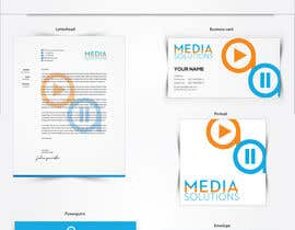 #16 para Corporative Image: Business Card, Paper, Envelop, etc por navrozmansiya