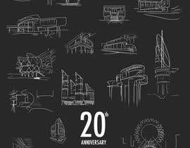 #108 untuk Illustrate 20 years of Sound Space Design history oleh joseantoniomv