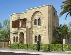 mustafamahmoud tarafından Villa Exterior Design (3D rendering) için no 18