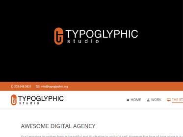 #154 untuk Design a Logo for Typoglyphic Studios oleh affineer