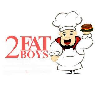 bouchtiba23 tarafından Design a Logo for  2 Fat Boys bbq foodtruck için no 7