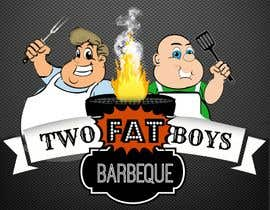 #24 untuk Design a Logo for  2 Fat Boys bbq foodtruck oleh shananigans1