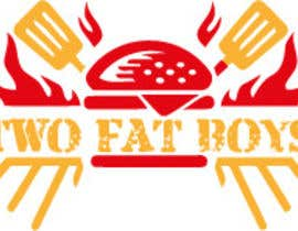 #29 untuk Design a Logo for  2 Fat Boys bbq foodtruck oleh szamnet