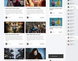 #10 untuk Design a Website Mockup for Social Networking Site oleh negibheji