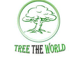 "banerjeeatrayee tarafından Design a Logo for ""Tree the World"" için no 144"