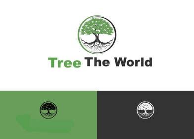 "cristinandrei tarafından Design a Logo for ""Tree the World"" için no 80"