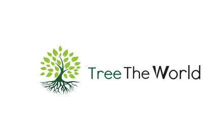 "cristinandrei tarafından Design a Logo for ""Tree the World"" için no 102"
