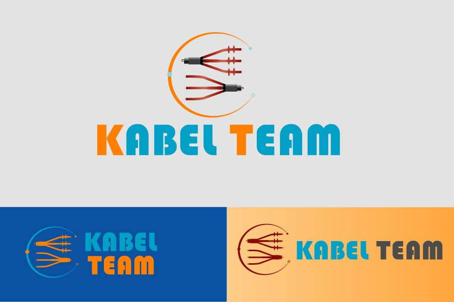 Photoshop Contest Entry #47 for Design a Logo for  KABEL TEAM d.o.o. - starting a new electrical engineering bussiness