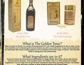 DrewKalinski tarafından Design a Brochure for Ginseng Wellness Product için no 5