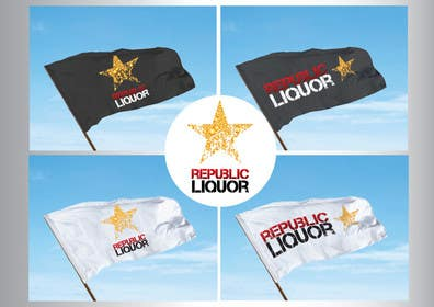 #181 for Design a Logo for republic liquor by GeorgeOrf