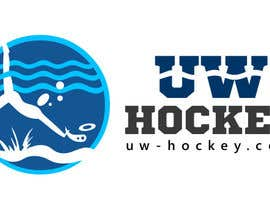 nº 116 pour Design a logo for uw-hockey website par nilankohalder