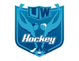 #98 untuk Design a logo for uw-hockey website oleh Brainstormed