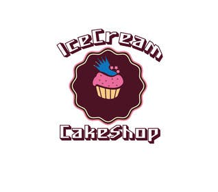 #23 untuk Design a Logo for  ice cream birthday cake shop oleh alyymomin