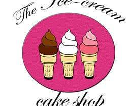 #64 untuk Design a Logo for  ice cream birthday cake shop oleh banerjeeatrayee