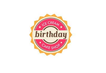 #17 untuk Design a Logo for  ice cream birthday cake shop oleh alejandranhr