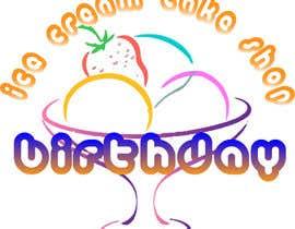 #70 untuk Design a Logo for  ice cream birthday cake shop oleh szamnet