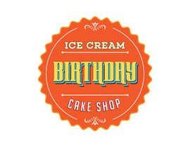 #75 untuk Design a Logo for  ice cream birthday cake shop oleh navadeepz