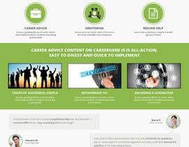 #5 untuk Design a wordpress website for a career advice startup oleh princevenkat