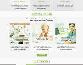 #27 untuk Design a wordpress website for a career advice startup oleh alvinmasalembo