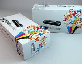 #15 untuk Create Print and Packaging Designs for HAPPY COLOR Printer toner box oleh Med7008