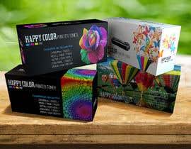 #16 untuk Create Print and Packaging Designs for HAPPY COLOR Printer toner box oleh Med7008