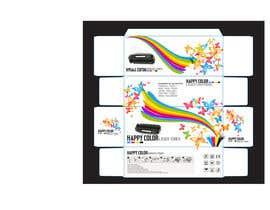 #22 untuk Create Print and Packaging Designs for HAPPY COLOR Printer toner box oleh Med7008