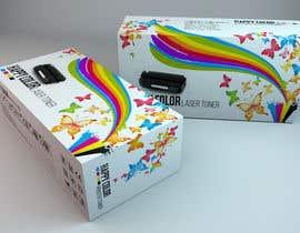 #23 untuk Create Print and Packaging Designs for HAPPY COLOR Printer toner box oleh Med7008