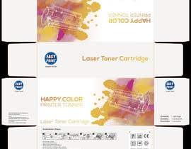 #17 untuk Create Print and Packaging Designs for HAPPY COLOR Printer toner box oleh akar3n