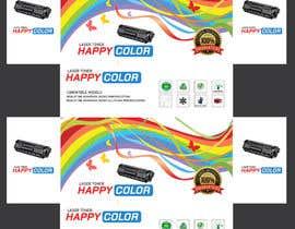 #29 untuk Create Print and Packaging Designs for HAPPY COLOR Printer toner box oleh abhikreationz