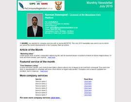 #6 untuk Design a HTML newsletter oleh artur99