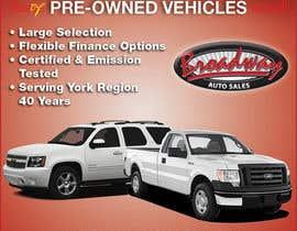 #5 untuk Design an Advertisement for Car Dealership oleh terrorvicky