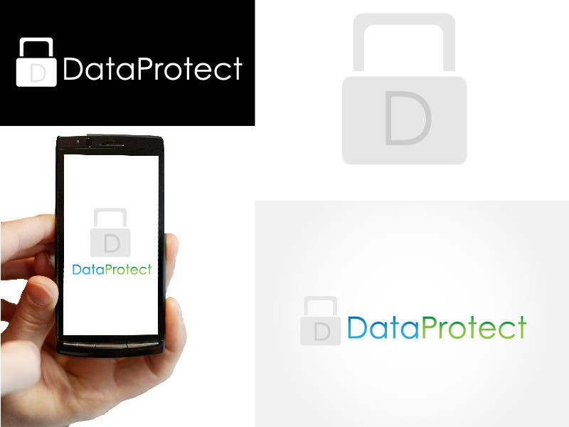 Kilpailutyö #2 kilpailussa Design a Logo for DataProtect