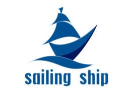 #23 untuk Design a Logo of a sailing ship oleh CarolusJet