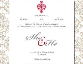 adripoveda tarafından Design some Wedding Invitations için no 4