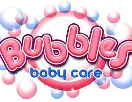 #160 para Logo Design for brand name 'Bubbles Baby Care' por richhwalsh