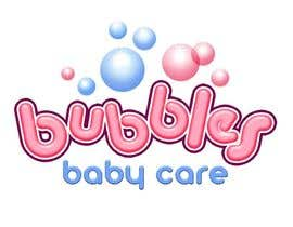 #192 para Logo Design for brand name 'Bubbles Baby Care' por richhwalsh