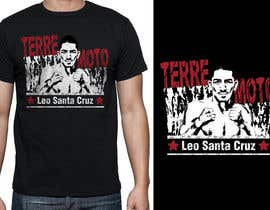 griffindesing tarafından Design a T-Shirt for Leo Santa Cruz için no 33