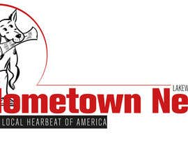 nº 49 pour Icon and Magazine Name design for new company, Hometown News par PamelaStecyk